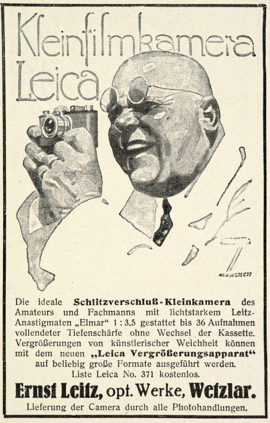 Pubblicità Leica