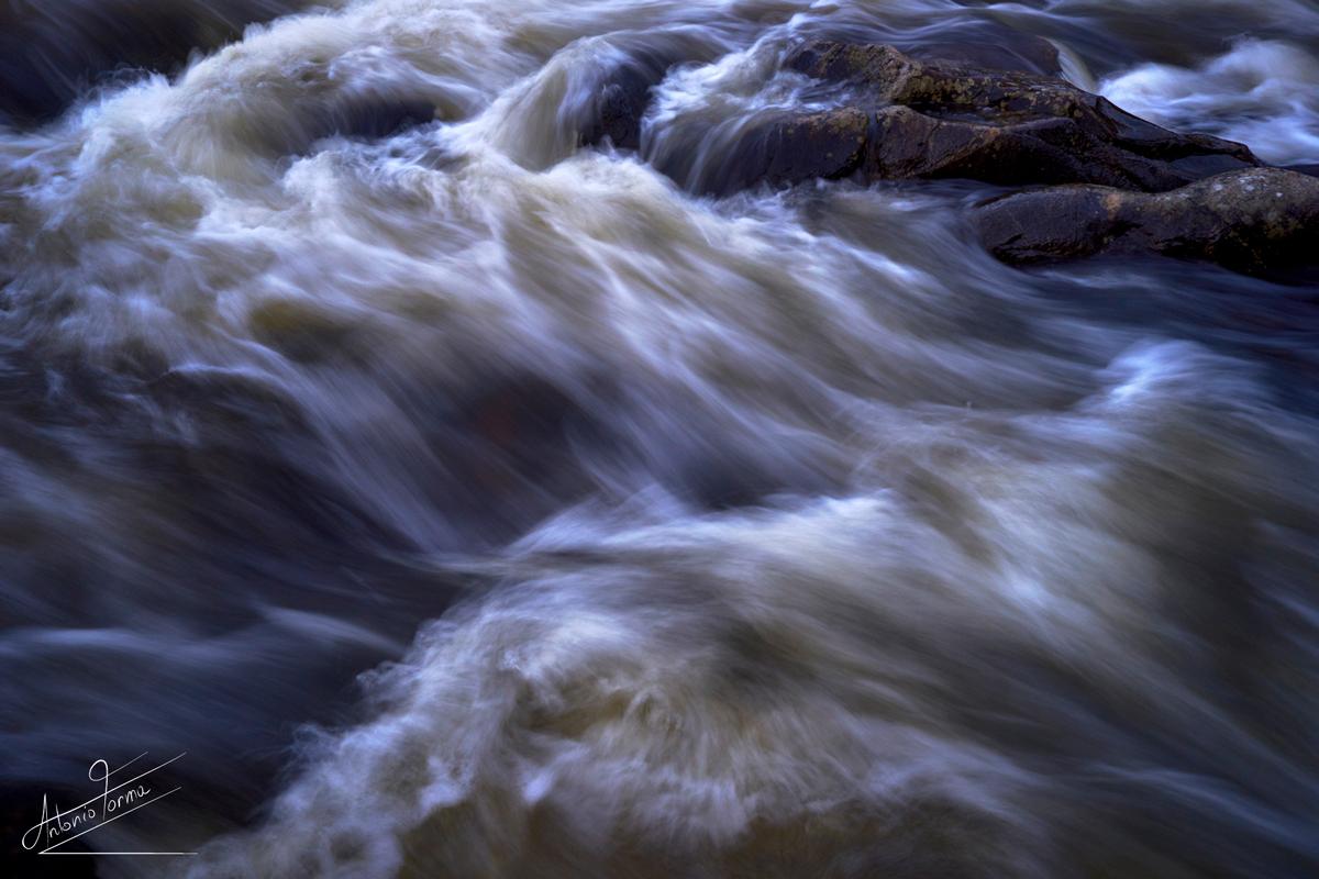 Rapide, Fiume Tirso. La Marmora notò la riduzione di portata e l'aumento delle piene distruttive dei corsi d'acqua, a causa di attività umane dissennate
